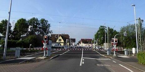 Bahnübergangstechnik-Mainaschaff