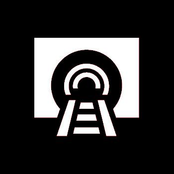 Tunnelsicherheitsbeleuchtung-Icon